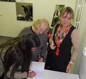 Stéphanie, Nicole et Véronique